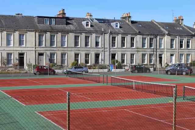 Tennis courts eglinton terrace ayr leslie barrie for 17 eglinton terrace ayr