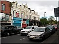 J3173 : Businesses on the Falls Road opposite the Culturlann by Eric Jones