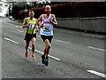 H4672 : Omagh Half Marathon - runners (3) by Kenneth  Allen