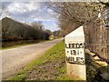 SE1438 : Leeds 13¼ Miles by David Dixon