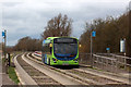 TL3469 : Cambridgeshire Guided Busway by Finlay Cox