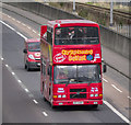 J3775 : City Sightseeing bus, Belfast by Rossographer