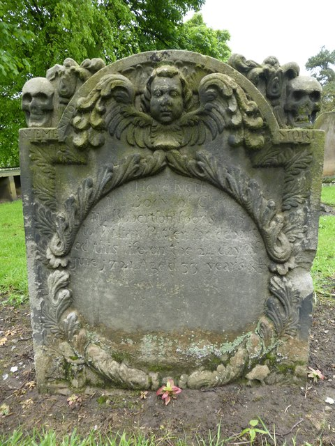 18th century tombstone, Strathbrock