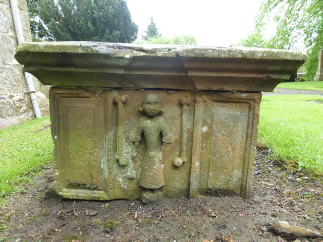 Table tomb sculpture, Strathbrock