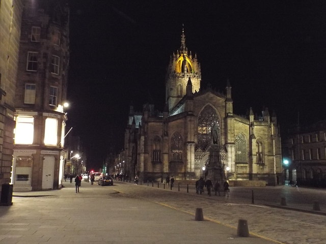 The Royal Mile - Edinburgh's Christmas