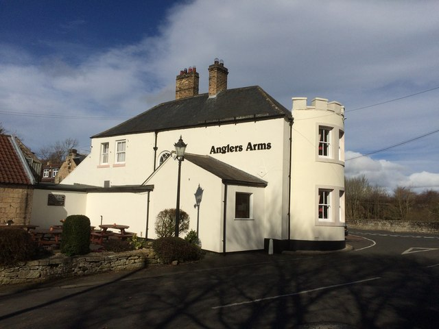 The Anglers Arms, Weldon Bridge