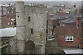 TQ4110 : The Barbican, Lewes Castle by Stephen McKay