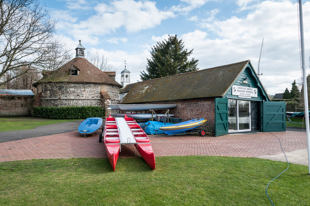 Dovecote (south west of Bisham Abbey) & Sailing School