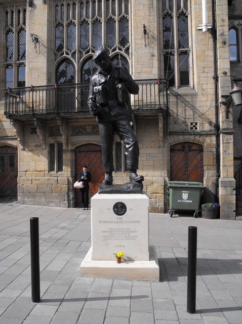 Durham Light Infantry Memorial, Market Place, Durham