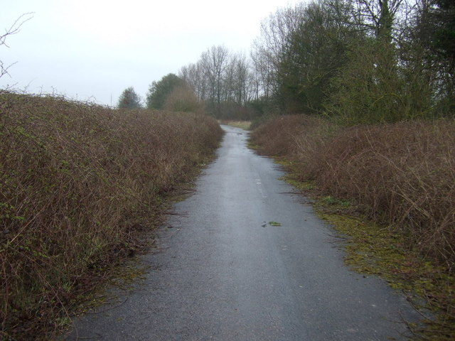 Cycle track, Dogsthorpe Star Pit & Little Wood Nature Reserve