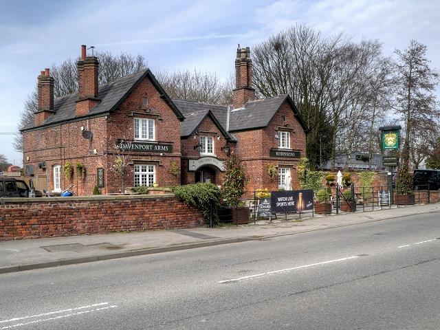 Davenport Arms (Thief's Neck), Woodford