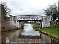 SJ6076 : Trent and Mersey Canal:  Willowgreen Bridge No 208 by Dr Neil Clifton