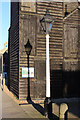 TQ8209 : Lamp Post & Fishing Net Hut, Rock-a-Nore Road by Oast House Archive