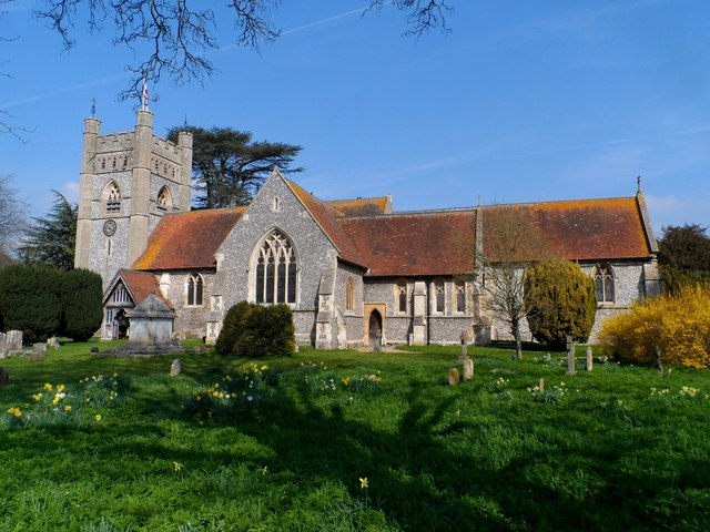 St Mary's church, Hambleden