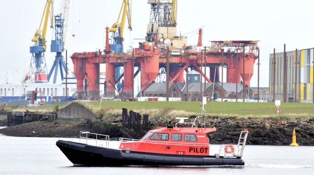 """The """"Captain Michael Evans"""", Belfast (April 2015)"""