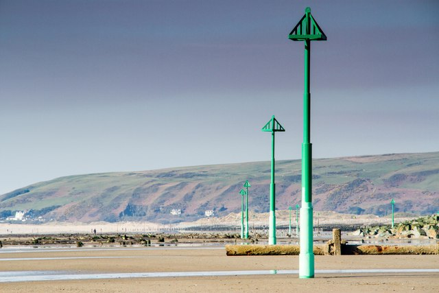 New beacons, Borth Sea defences
