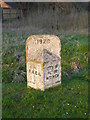 TF1504 : Former council boundary stone between Glinton and Werrington by Paul Bryan