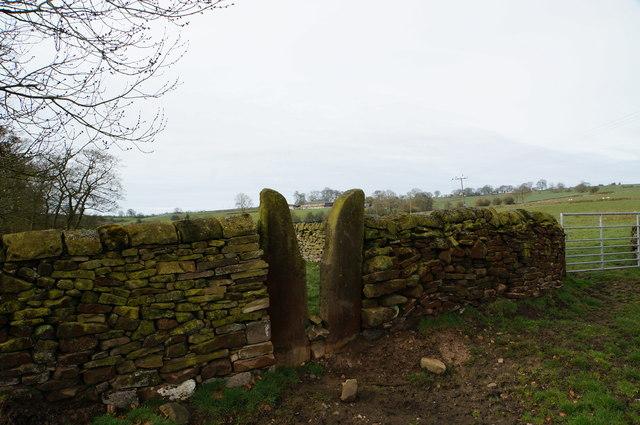 Squeeze stile, Waterhouse Farm, Longnor