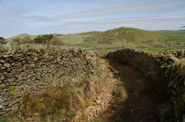 Track down to Hollinsclough