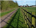 SK6008 : Path leading to the A607 Newark Road by Mat Fascione