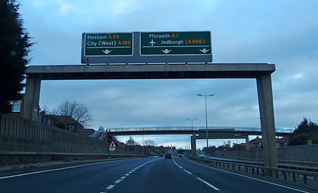 A1, Newcastle Upon Tyne