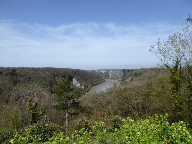 Avon Gorge North of Clifton Suspension Bridge