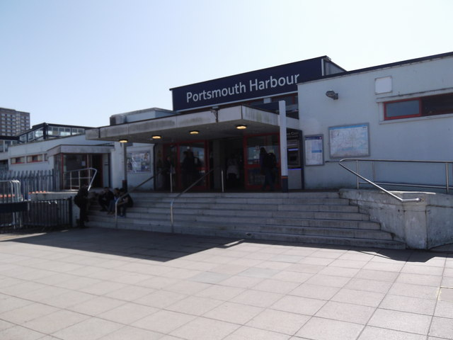 Portsmouth Harbour Railway Station