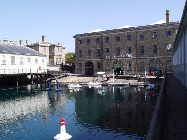 Action Stations, Historic Dockyard, Portsmouth