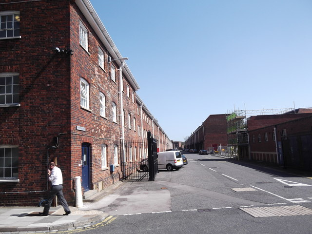 Anchor Lane, Historic Dockyard, Portsmouth