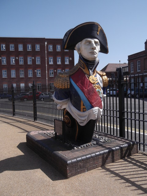 Lord Nelson statue, Historic Dockyard, Portsmouth
