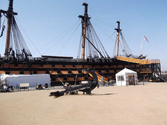 Port side, HMS Victory, Historic Dockyard, Portsmouth