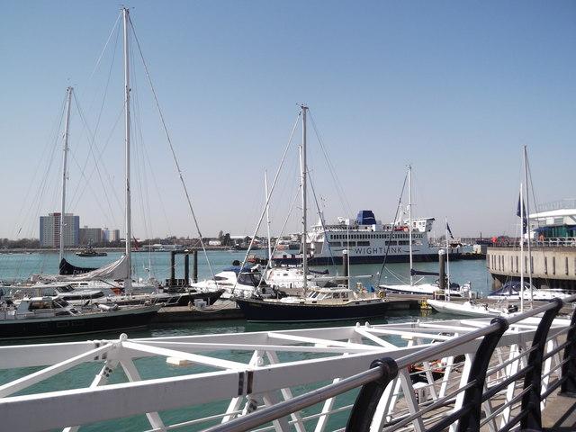Boats, Gunwharf Quay, Portsmouth