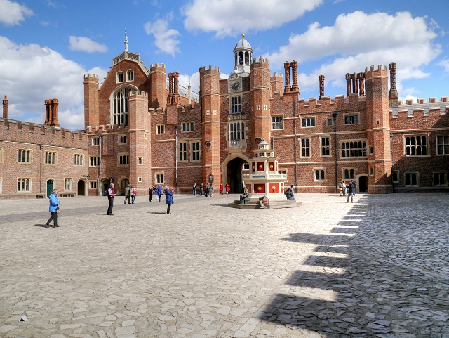 The Base Court, Hampton Court Palace