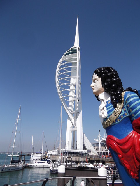 Figurehead and Spinnaker Tower, Portsmouth