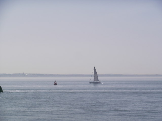 Sailing on the Solent at Southsea