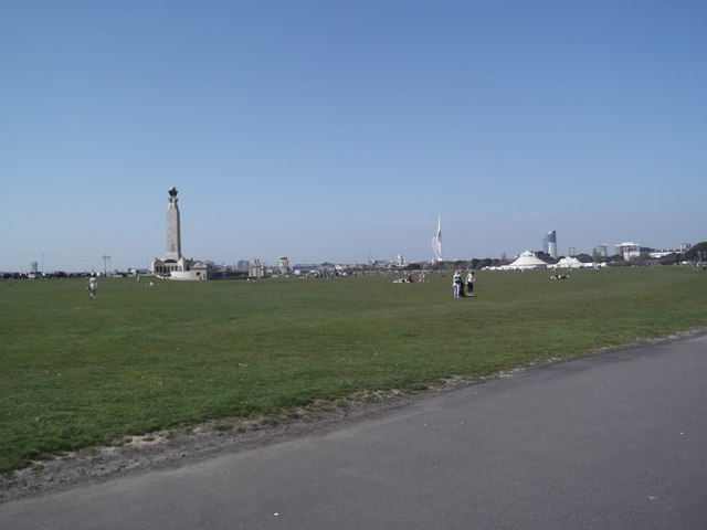 Southsea Common from Serpentine Road
