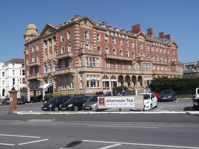 Queen's Hotel. Clarence Parade. Southsea