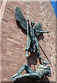 SP3379 : St Michael's Victory over the Devil by Mat Fascione