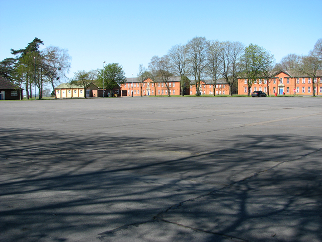 The Old Parade Ground At Raf Bircham 169 Evelyn Simak Cc