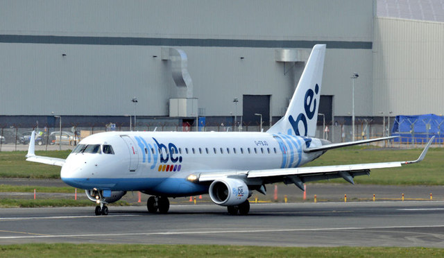 G-FBJD, George Best Belfast City Airport (April 2015)