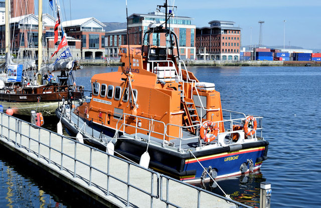 "Lifeboat ""Henry Heys Duckworth"", Belfast (April 2015)"