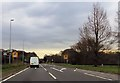 SJ7075 : A556 leaving Lostock Gralam junction by John Firth