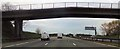 SJ6980 : Farm track bridge over M6 by John Firth