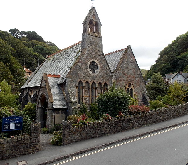 Image result for st john the baptist lynmouth