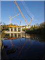 SD4964 : Lune West Bridge under construction : Week 16