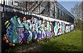SJ8193 : Murals to combat graffiti : Week 16