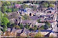 SE2045 : Otley Parish Church taken  from the top of The Chevin : Week 17