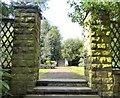 SJ9493 : Garden at Pole Bank by Gerald England