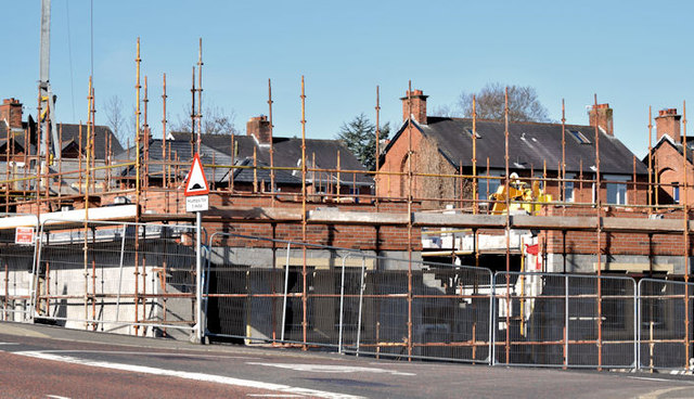 Holywood Road development site, Belfast - April 2015(1)