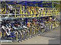TL1929 : Bike racks at Hitchin station : Week 16